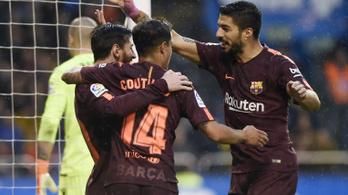 A Barca zseniális góllal tette fel az i-re a pontot