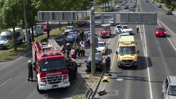 Halálos baleset történt a ferihegyi gyorsforgalmi úton