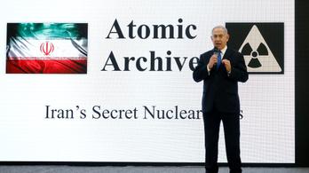 Netanjahu: Irán hazudott, mégis atomfegyvert fejlesztettek