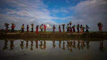 Hamarosan szülnek a mianmari hadsereg által megerőszakolt rohingja nők tömegei