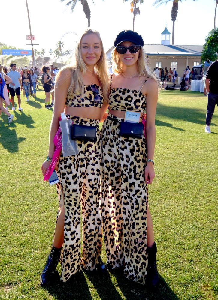A hazai fesztiválokon is mindig vannak összeöltözött barátnők.
