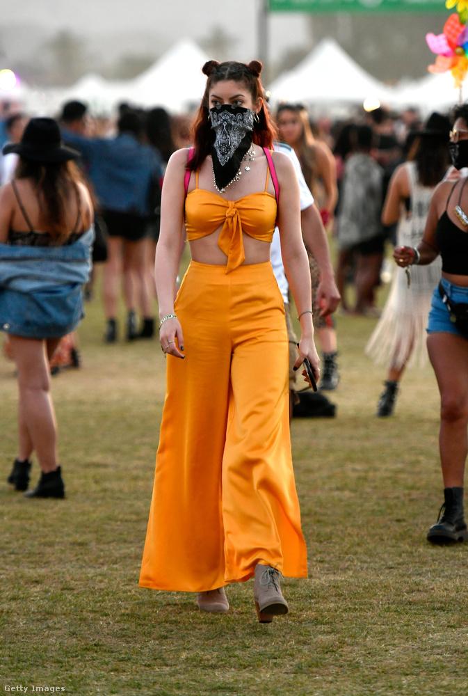 Úgy tűnik, hogy a sárga az új rózsaszín a fesztiválozók körében.