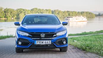 Honda Civic 1.6 I-DTEC, mármint dízel – 2018.