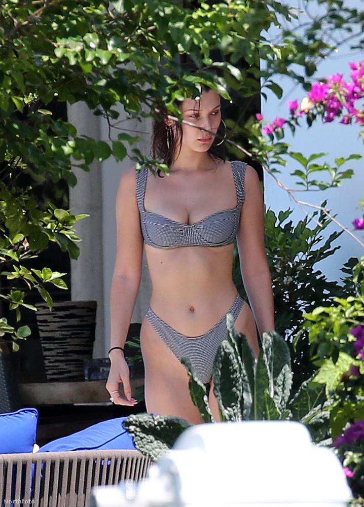 Itt pedig nézzük tovább Bella Hadid milliókat érő testét!