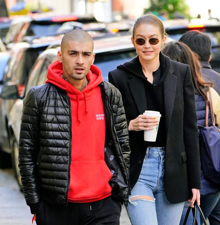 Miközben az egyik Hadid (azaz Bella) Miamiben medencézett a hétvégén Hailey Baldwinnal, addig a másik Hadid (azaz Gigi) New Yorkban sétálgatott Zayn Malikkel.