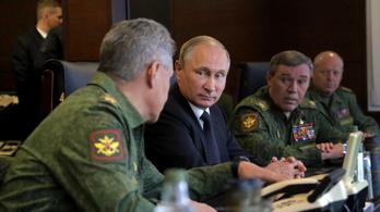 Putyinnak elfogyott a háborúra szánt pénze