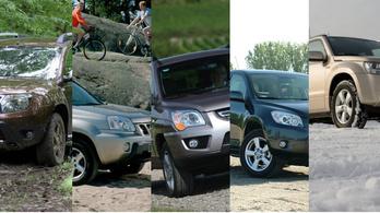 Az öt legjobb közepes SUV kétmillióig