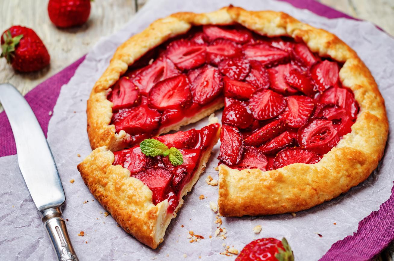 Epres hajtogatott pite, azaz a tökéletes galette receptje: a világ legegyszerűbb sütije