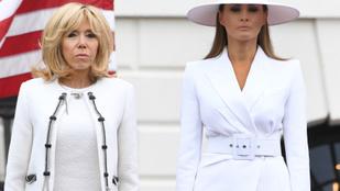 Elég nyugtalanító dolgokat mondott Melania Trump életéről a francia first lady
