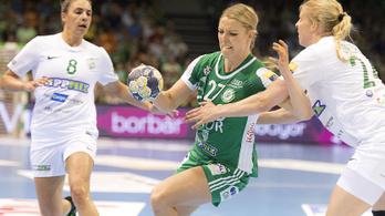 Női kézilabda: sikerült két góllal vernie a Győrnek a Fradit