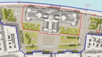 Már hétfőn lezárják a Kossuth teret, a villamosvonalat és a rakpartot is