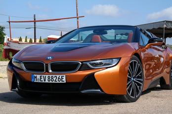BEMUTATÓ: BMW I8 ROADSTER – 2018.