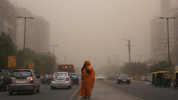 Durva homokvihar miatt haltak meg több tucatnyian Indiában