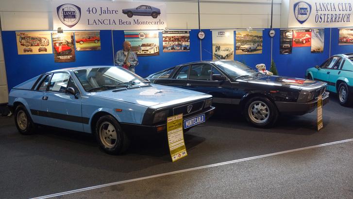 Lancia Beta Montecarlók szép (nem szép) sorban