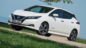 Menetpróba: Nissan Leaf – 2018.