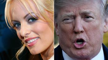Trump tagadta, hogy kampánypénzekből fizettek volna a pornószínésznőnek