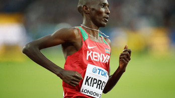 Elismerte a pozitív doppingtesztet az olimpiai- és világbajnok futó