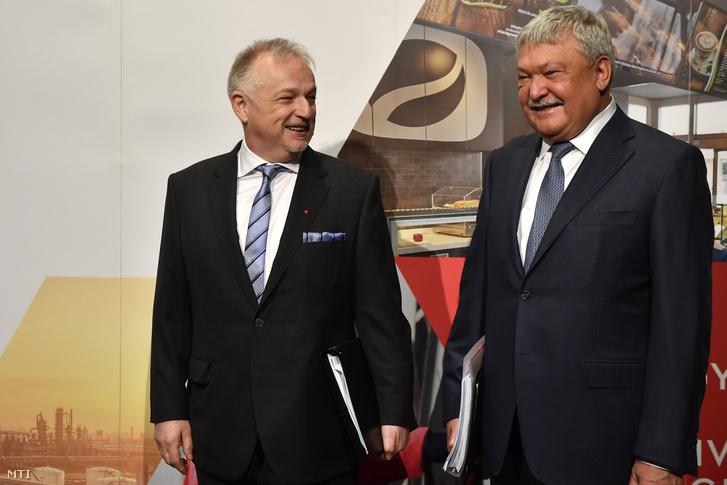 Hernádi Zsolt és Csányi Sándor