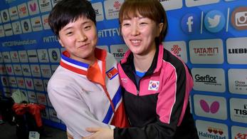 Verseny közben egyesült a két Korea a pingpong-vb-n