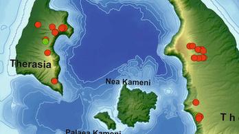Atlantiszi földrajz: magyar vulkanológusok rekonstruálták a katasztrófa valószínű szigetét