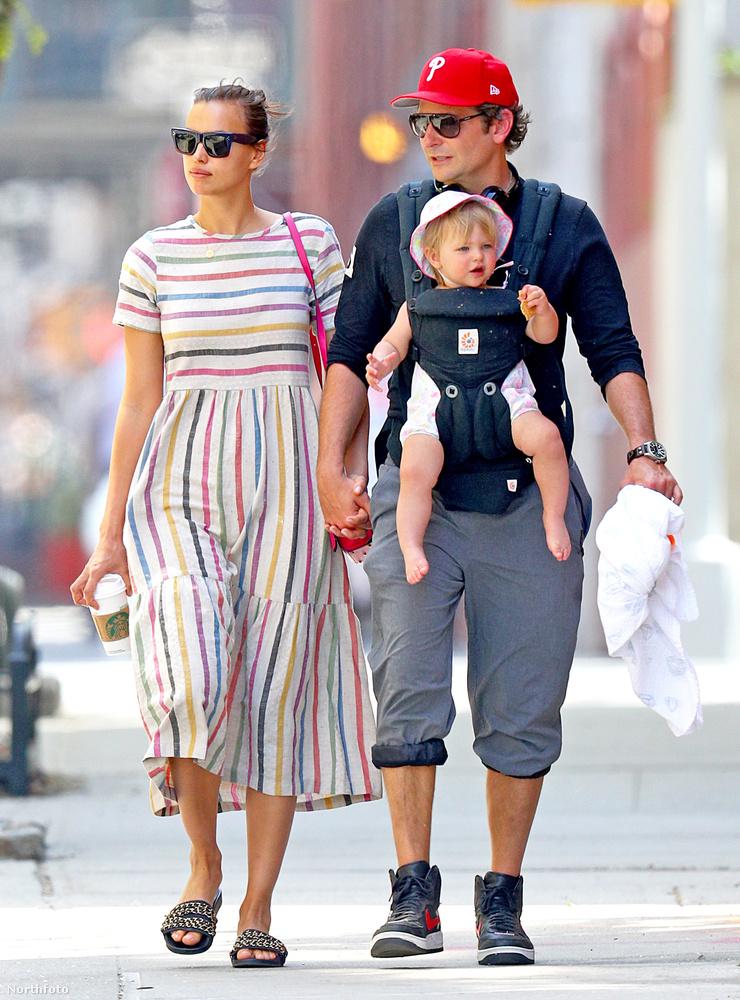 Nemrégiben kifigyeltük, hogy Bradley Cooper kislánya, a most egyéves Lea de Seine tiszta apja, legalábbis a profilja alapján nagyon úgy tűnt