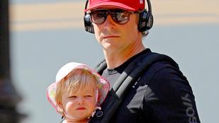 Bradley Cooper kislányának mintha nem is lenne anyja