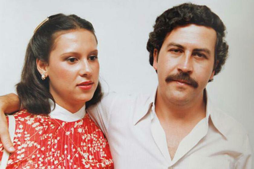 A legveszedelmesebb bűnöző hordozta a tenyerén: ő volt Pablo Escobar felesége