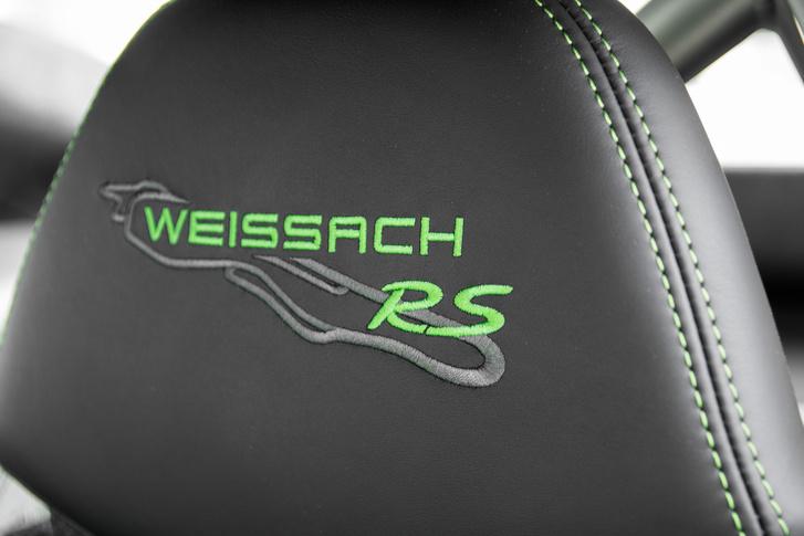 A fejtámlák láttán elgondolkodtam, mennyire optikai csomag a Weissach-paket