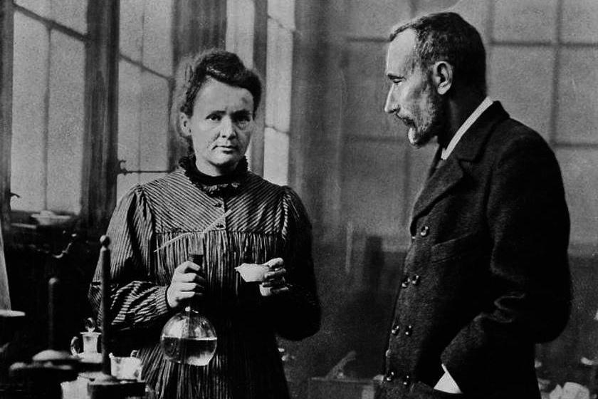 A Curie házaspár.