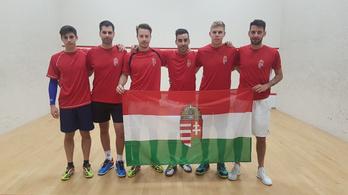 Történelmi magyar siker: Európa legjobb nyolc csapata között a férfi fallabda-válogatott