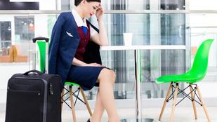Hol alszanak a légiutas-kísérők a repülőn?
