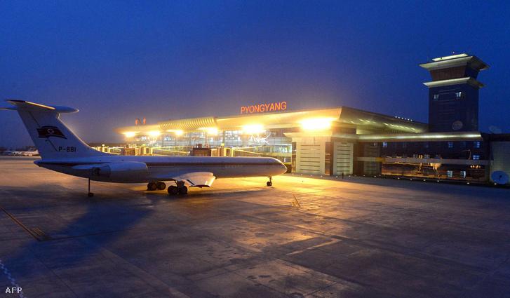 A phenjani nemzetközi repülőtér 2015-ben átadott új terminálja