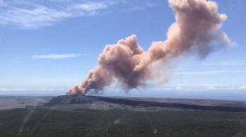 Kitört egy vulkán, de a repülni vágyó turistáknak ezúttal nem kell félniük