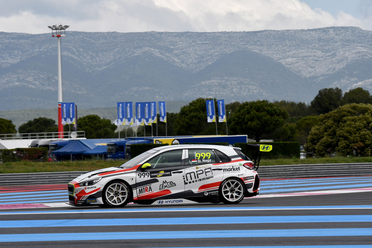 A szezont második hellyel kezdő Nagy Dániel a Paul Ricard versenypályán
