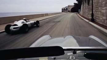 Úristen, de szép videó ez egy régi monacói grand prix-ről