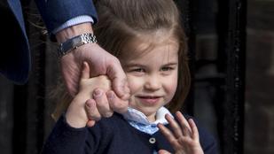 Gyönyörű fotót adott ki Sarolta hercegnőről és Lajos hercegről a királyi ház