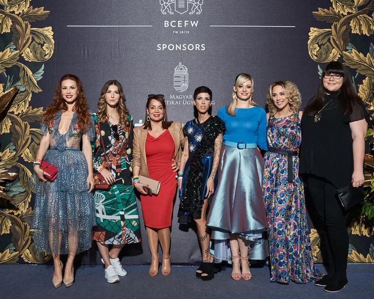 Az olyan celebnők, mint például Csősz Bogi luxusfeleség,Cinthya Dictator, és Kiss Ramóna műsorvezető is részt vett az eseményen.