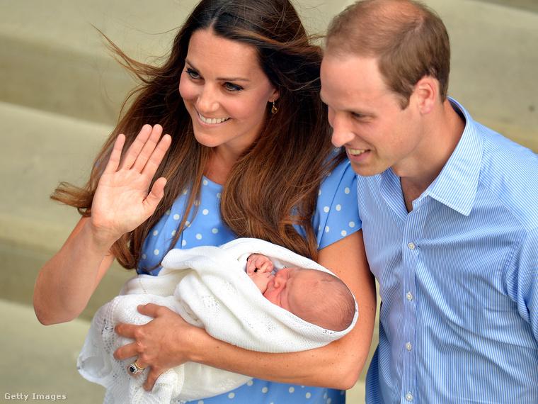 2013 júliusában György herceg meglátta a napvilágot.