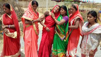 Újabb kislányt erőszakoltak meg és gyújtottak fel Indiában