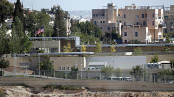 Egy hét múlva szimbolikusan felavatják az USA jeruzsálemi nagykövetségét
