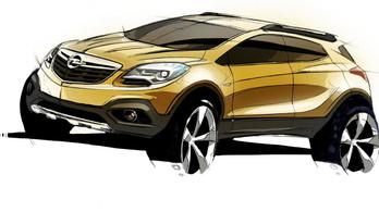 Már fejlesztik a következő Opel Mokkát