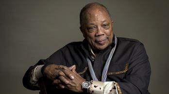 Soha nem hallott sztorikat is mesél majd Budapesten Quincy Jones