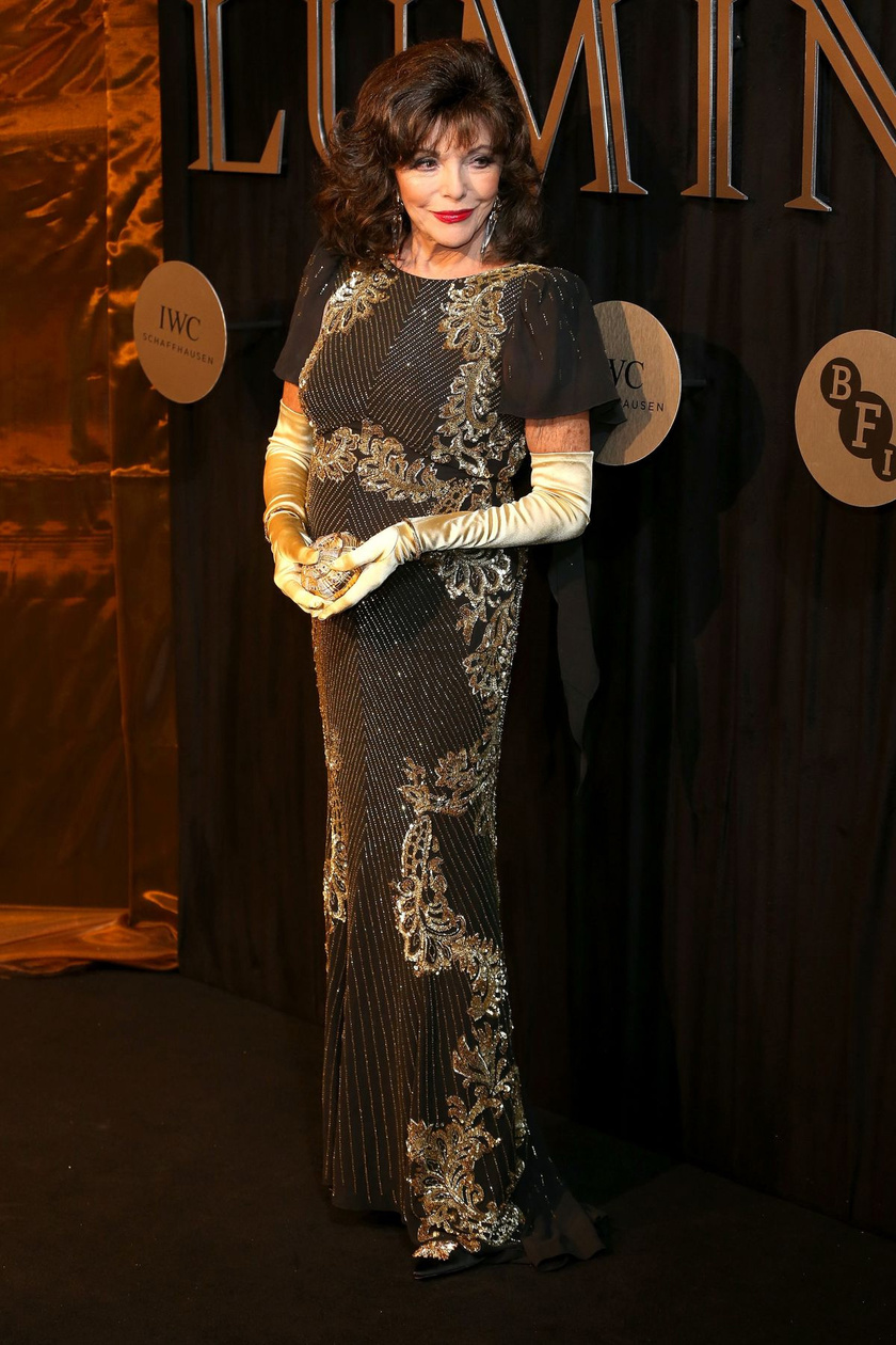 Joan Collins még mindig gyönyörű - meg nem mondanánk róla, hogy már 85 éves lesz.