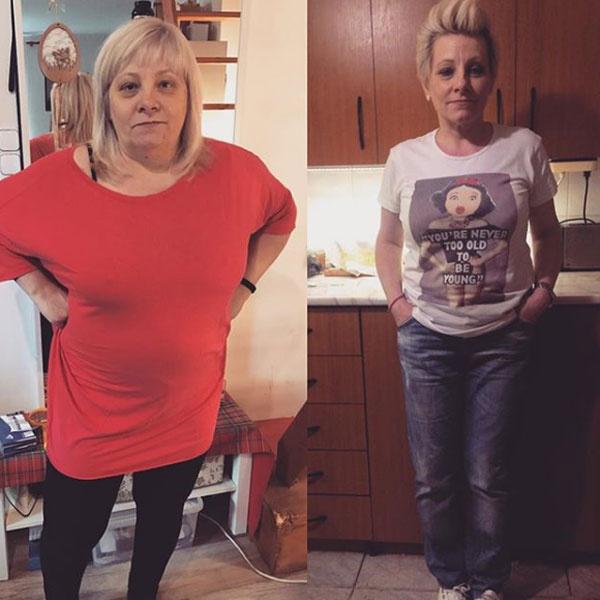 Úgy tűnik, Tóth Vera inspirálta az anyukáját látványos fogyásával - egy év alatt bámulatos átalakuláson esett át ő is.