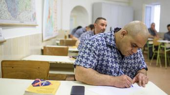 Idén 45 fogvatartott érettségizik