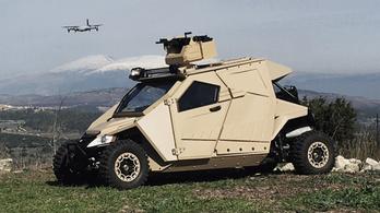 Yagu: mini-harckocsi, határőrzésre
