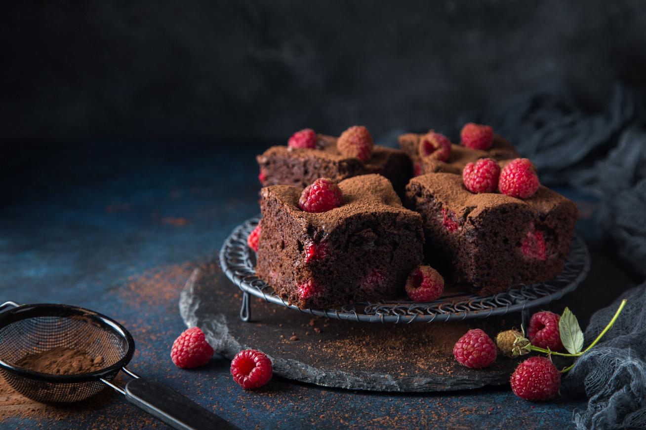 30 perces könnyű, csokis-málnás süti - Ezzel nem lehet melléfogni