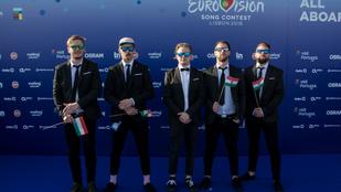 Magyar zászlókkal érkezett az AWS Lisszabonba