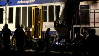 Összeütközött két vonat Németországban, ketten meghaltak