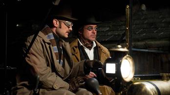 Két év múlva jön a Sherlock Holmes harmadik része